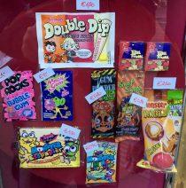 Swizzels Doouble Dip Orange Kirsch Magic Gum Pop Rocks TuttiFrutti Wunderball