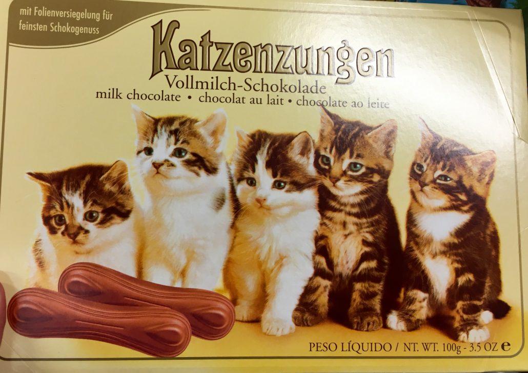 Gunz Katzenzungen Vollmilch