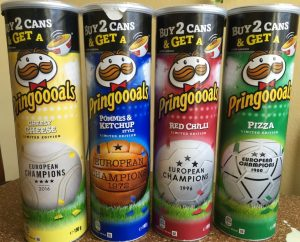 Pringles Pringoooals diverse Sorten