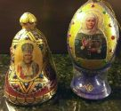 Honig Russland Holzei Heiligenmotiv