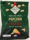 Sweet Chili Cheese Popcorn mit Tabasco von Jimmy's. Mein Favourit!