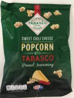 Jimmy's Popcorn mit Tabasco