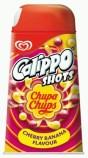 Langnese Eiskrem Calippo Shots mit Chupa Chups-Geschmack
