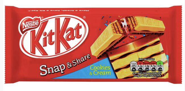 KITKAT CHUNKY Cookies n' Cream
