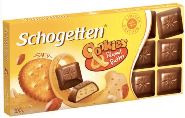 Trumpf Schogetten Cookies + Peanut Butter