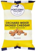 Exklusives Käsespopcorn Portlebay Popcorn: Obstgartenholz geräucherter Cheddar-Käse