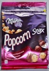 Und auch das Produkt Snax von Milka gab es mal mit Popcorn.