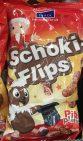 Flips mit Schokogeschmack und DDR-Figuren darauf - mutig, aber auf jeden Fall zu teuer mit fast 2 Euro pro Tüte.