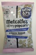 Metcalfe's skinny Popcorn cinema sweet