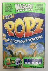 Popz Mikrowellen-Popcorn mit Wasabi-Geschmack