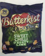 Irre gut: Intensiv sauer, scharf und zugleich süß: Butterkist Discoveries: Sweet Chilli und Limone