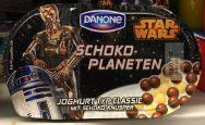 Danone: Schokoplaneten mit Star Wars-Motivik.