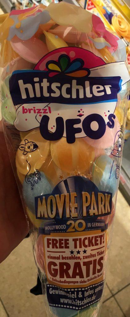 Hitschler brizzl Esspapier-UFOS