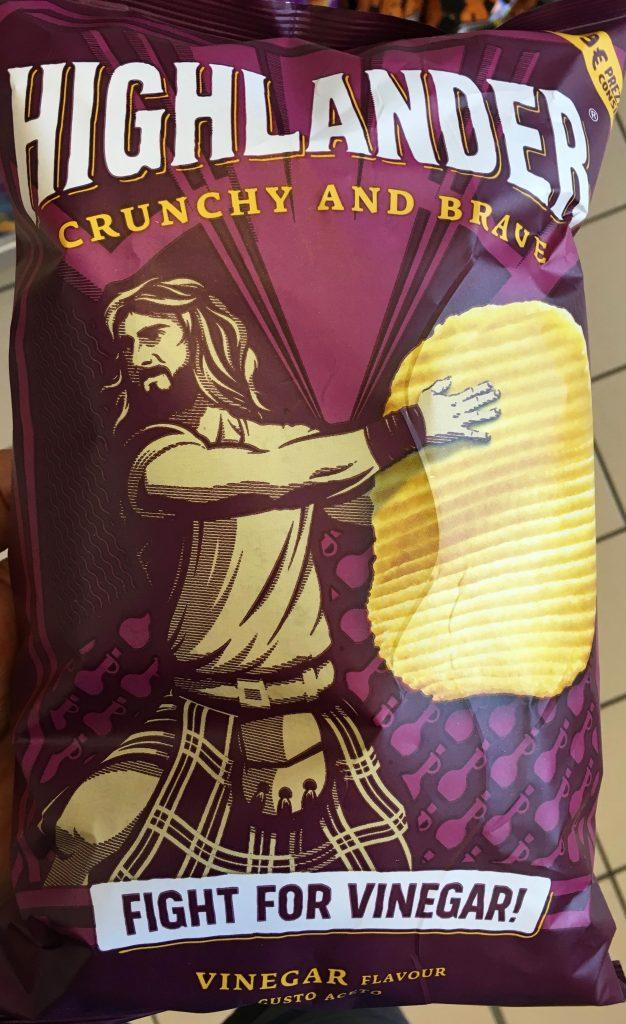 Highlander-Chips Essig