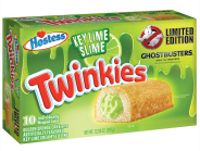 Hostess Twinkies Key Lime Slime Ghostbusters Edition grün