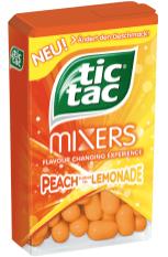 TicTac Pfirsich Zitrone