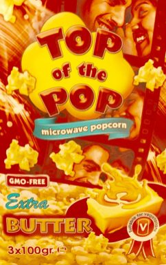 Mikrowellen-Popcorn Top of the Pops