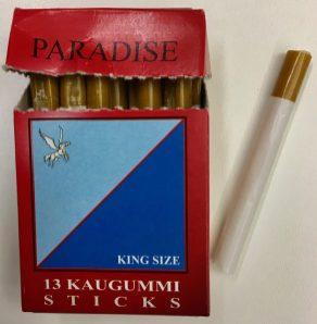 Klassische Kaugummi-Zigaretten von naschig.de