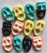 Horror-Masken aus Gummi (von naschig.de)