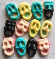 Weingummi Scream Frankenstein Totenkopf Halloween
