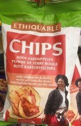 Rote Kartoffelchips Ethiquable