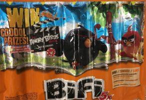 Angry Birds Bifi Unilever