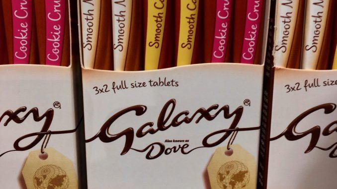 Mars Galaxy Schokolade Stangen