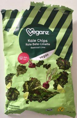 Veganz Kale Chips Rote Bete-Limette