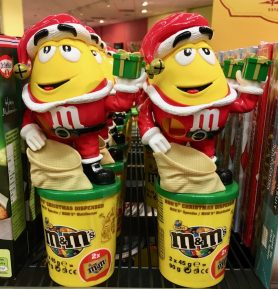 Mars M+M Weihnachtsmann
