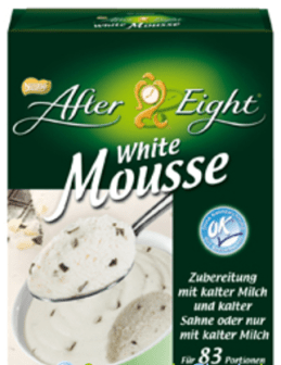 After Eight White Mousse Dessert 2017