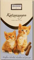 Katzenzungen von Heilemann in Vollmilch.