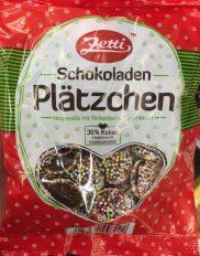 Zetti Schokoladen-Plätzchen mit Streuseln