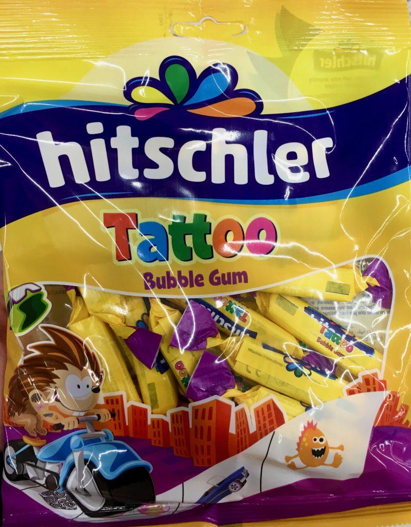 Hitschler Tattoo Kaubonbons
