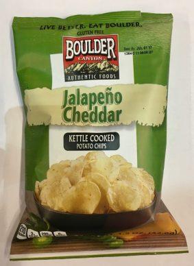 Jalapeno Cheddar-Chips von Boulder