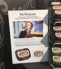 Nippits Mints Margaret Thatcher