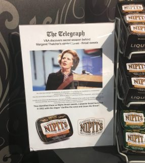 Nippits Mints Margaret Thatcher