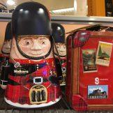 Walkers Scotland Bobby Blechdose Koffer