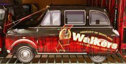 Walkers Scotland 1898 Blechdose Auto
