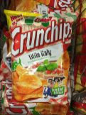 Crunchips Kartoffelchips Little Italy