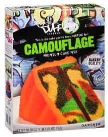 Gartner Studios Duff Goldman Camouflage Premium Cake Mix 517G