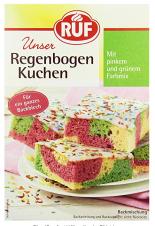 Regenbogenkuchen RUF