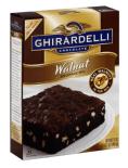 Ghirardelli, die Schokolade aus San Francisco, gibt auch eine Kuchenmischung heraus.