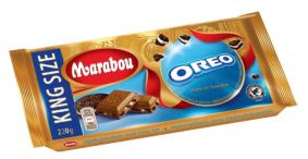 TwoBrands: Marabou-Schokolade mit Oreo-Stückchen (beide Mondelez)