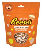 Reese's Mini-Cups mit weißer Schokolade.