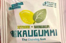 Das Kaugummi Zitrone Basilikum
