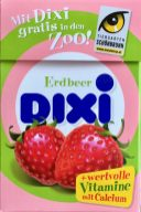 Dixi Erdbeer Traubenzucker-Bonbons
