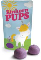 Bunte Einhorn-Pupse als kleine Marshmallow-Bällchen.