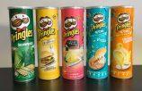Pringles Asiatische Standarddosengröße