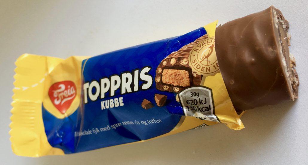 Freia Toppris Kabbe oben