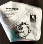 Müller Joghurt mit der Ecke Folienrückseite Minions